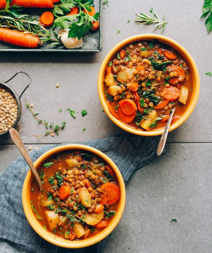 1-Pot Everyday Lentil Soup