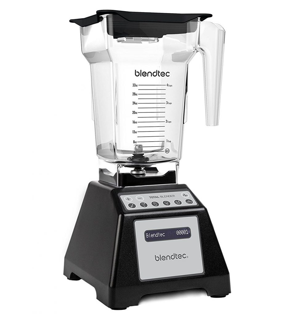 Blendtec blender that is a perfect gift for someone who is vegan