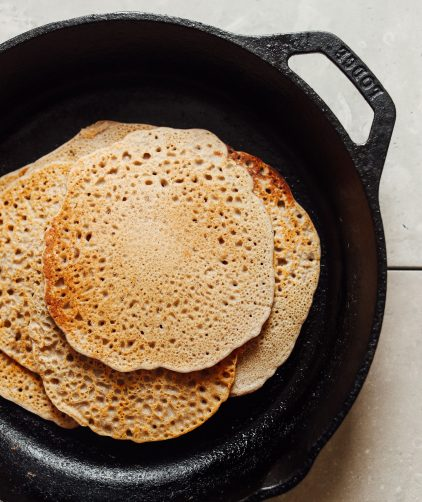 5-Ingredient Buckwheat Crepes