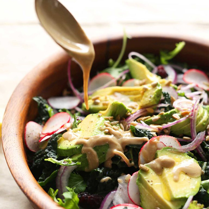 Detox salad for one of our 12 Plant-Based 1-Pot Dinner Ideas