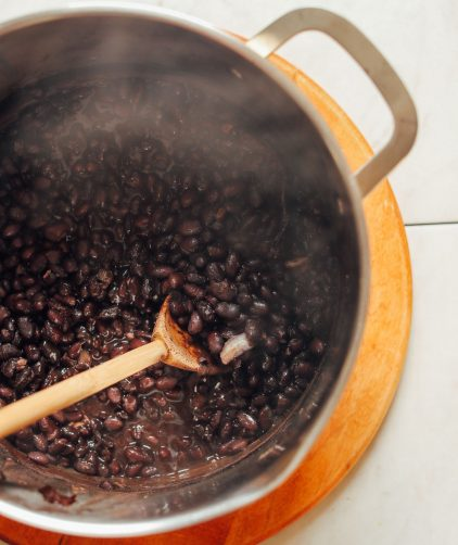 Easy 1-Pot Black Beans from Scratch