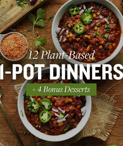 12 Plant-Based 1-Pot Dinners