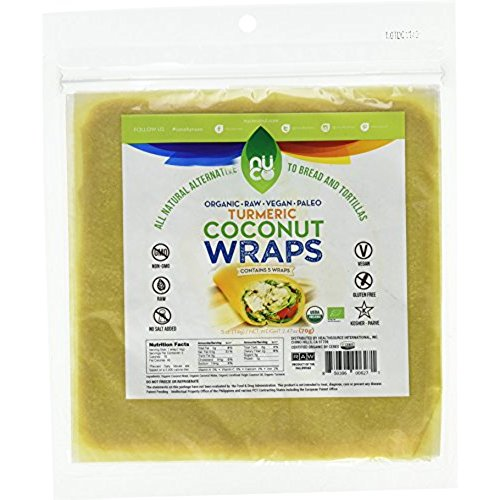 Our favorite coconut wraps