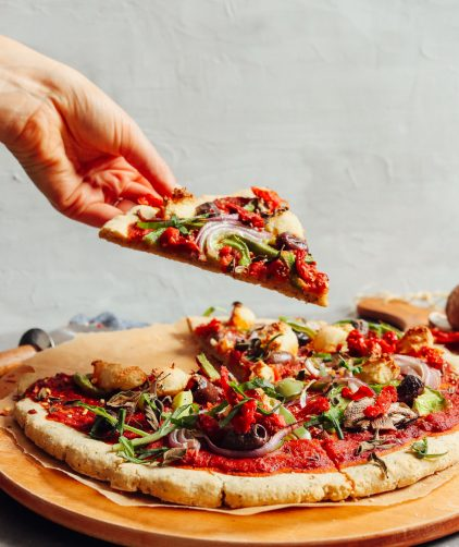 Easy Vegan Gluten-Free Pizza Crust