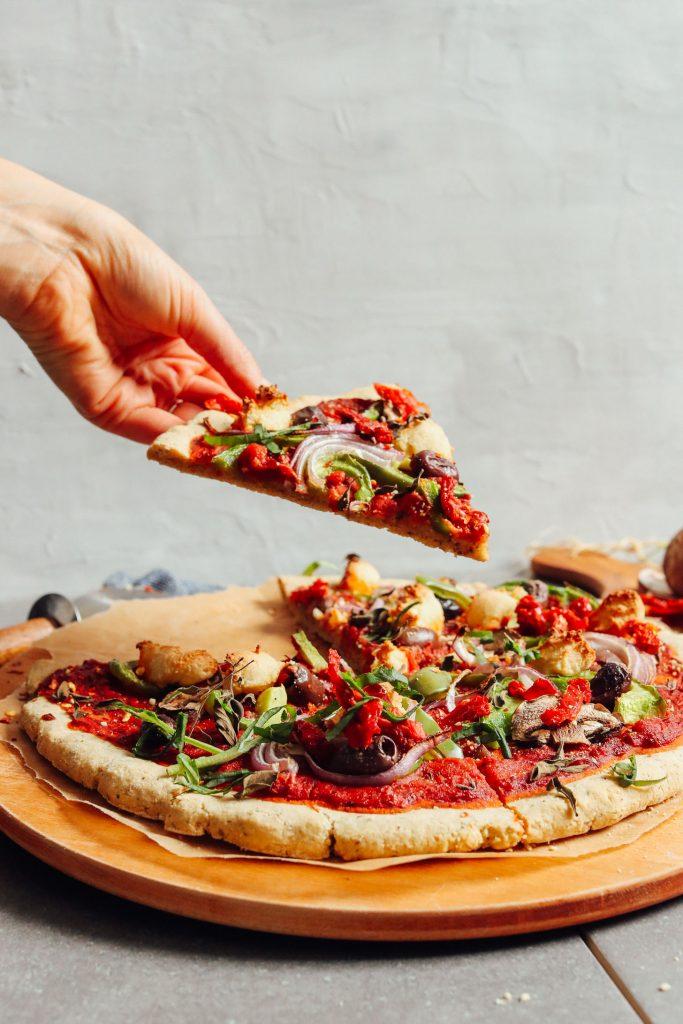 Flat Bread Recipe Pizza Simple