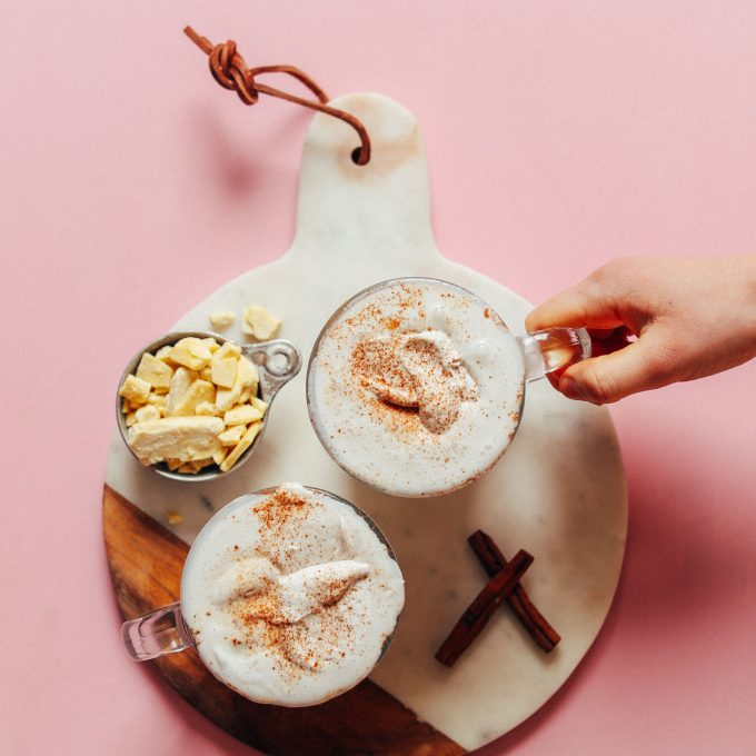 Vegan White Hot Chocolate
