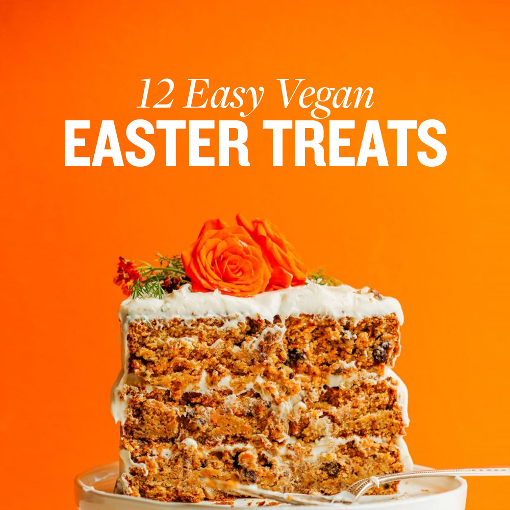 12 easy vegan easter treats