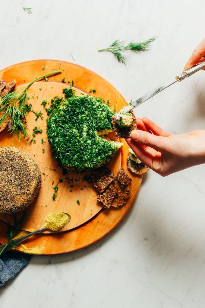 Easy Probiotic-Cultured Vegan Cheese