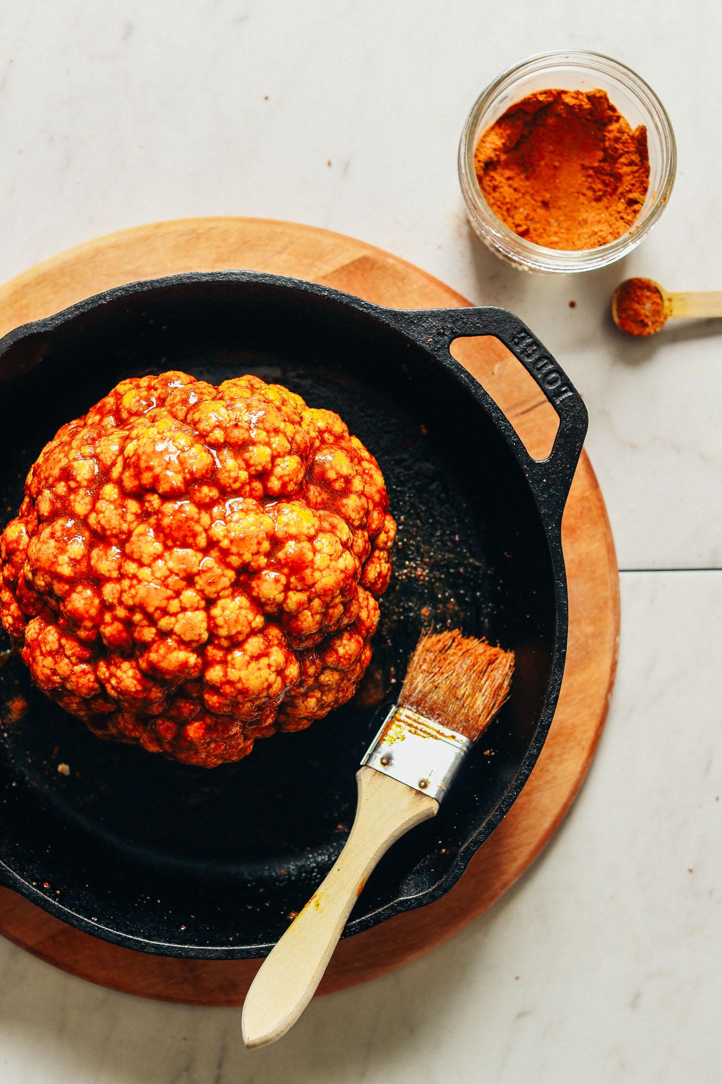 The Best Whole Roasted Cauliflower Minimalist Baker Recipes