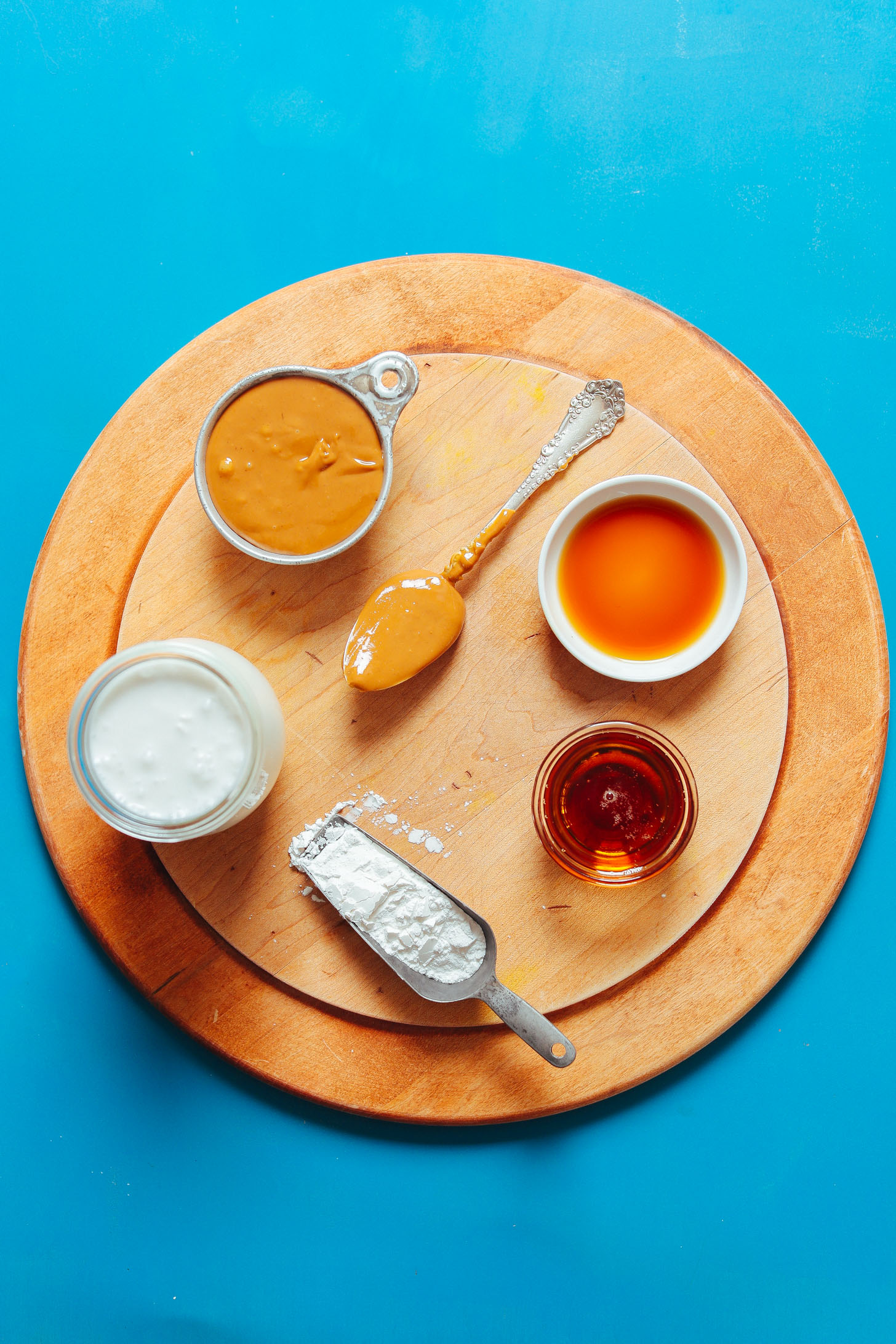 Ingredients for making our amazing naturally-sweetened Vegan Peanut Butter Pudding recipe