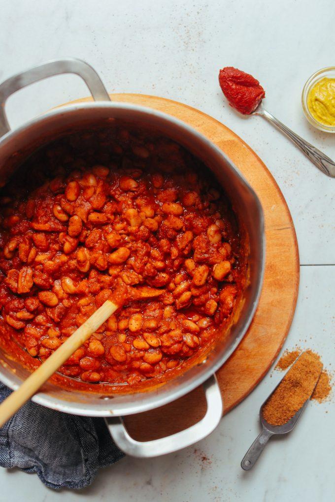 1-Pot BBQ Baked Beans