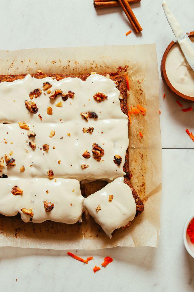 1-Bowl Carrot Apple Snack Cake
