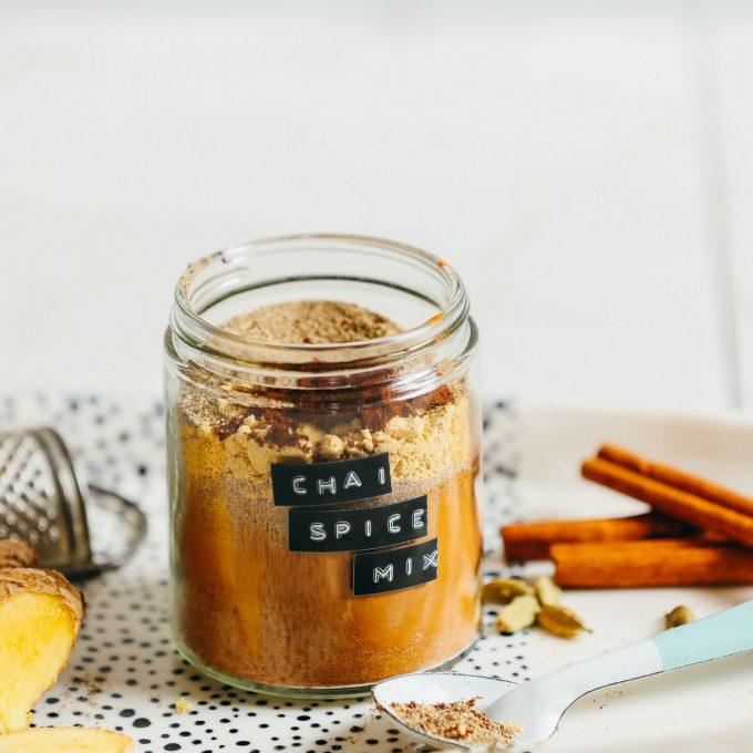 5-Minute Caffeine-Free Chai Mix
