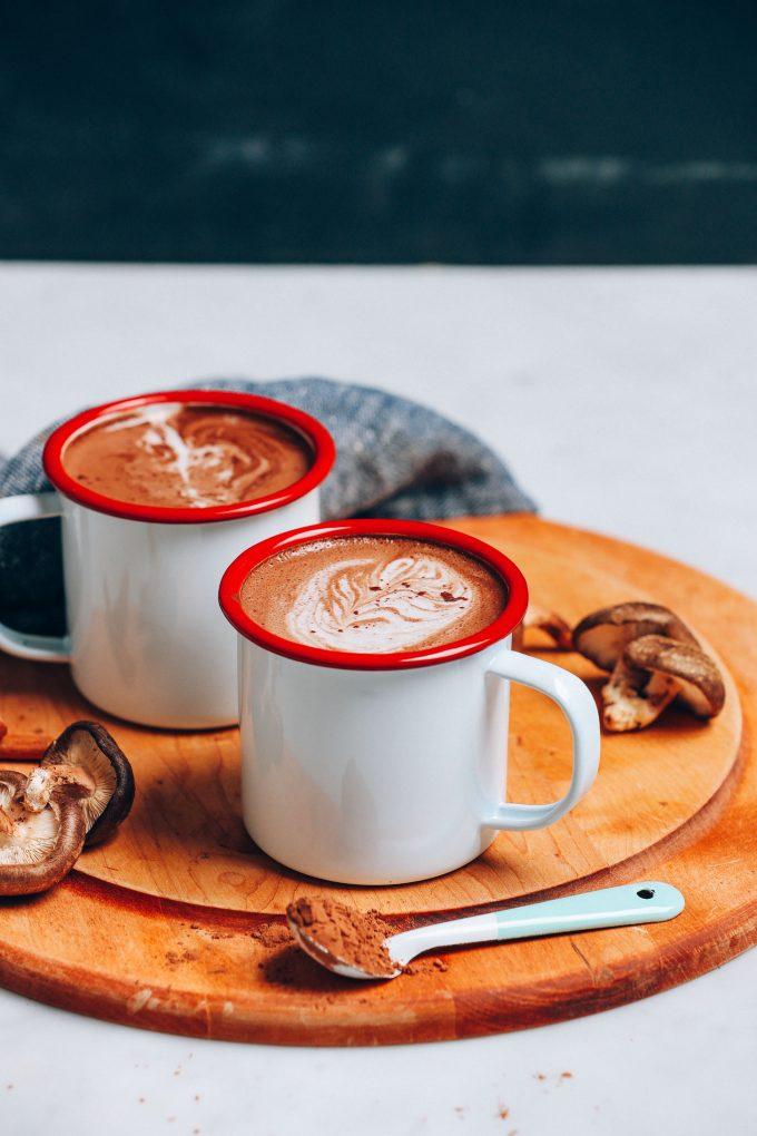 5-Minute Mushroom Latte (2 Ways!)