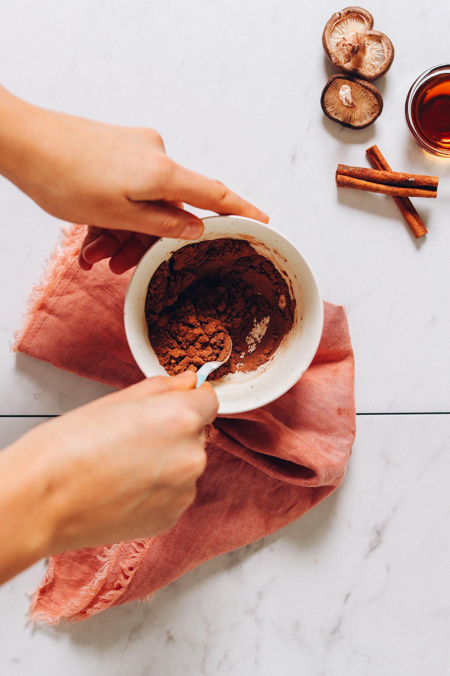 5-Minute Vegan Mushroom Latte | Minimalist Baker Recipes