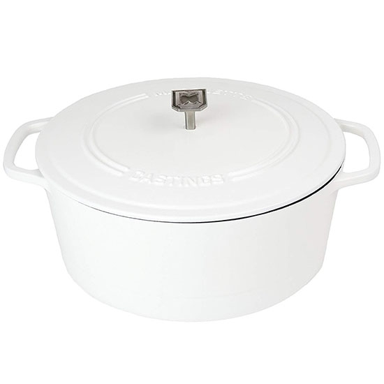 Our favorite dutch oven for making soups and stews