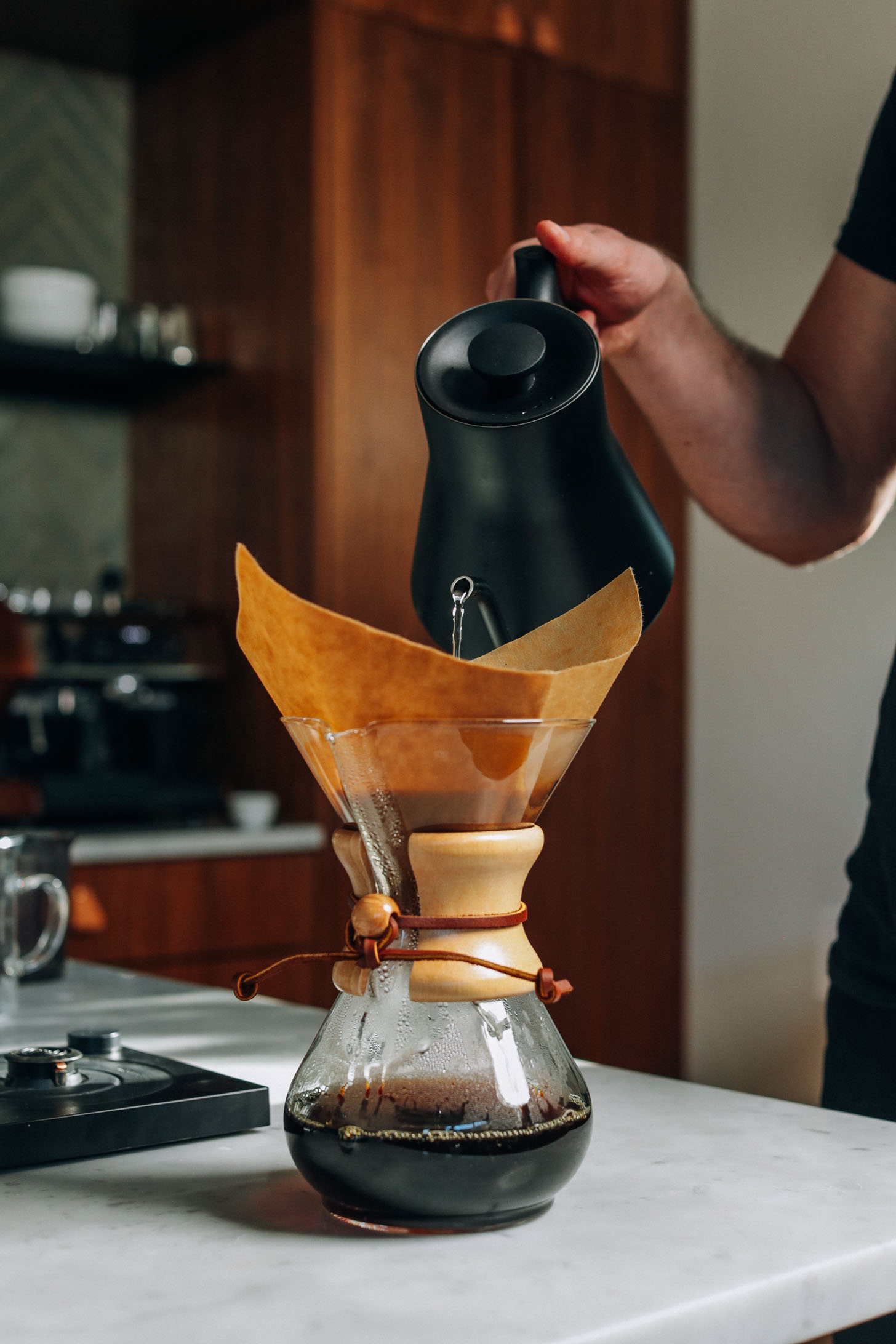 How To Make Pour Over Coffee Minimalist Baker Recipes