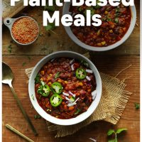 Assorted photos of recipes included in our roundup of 18 Easy 1-Pot Plant-Based Meals
