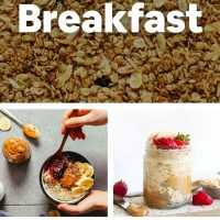 Recipe photos for our post on 12 Ways to Eat Oats for Breakfast