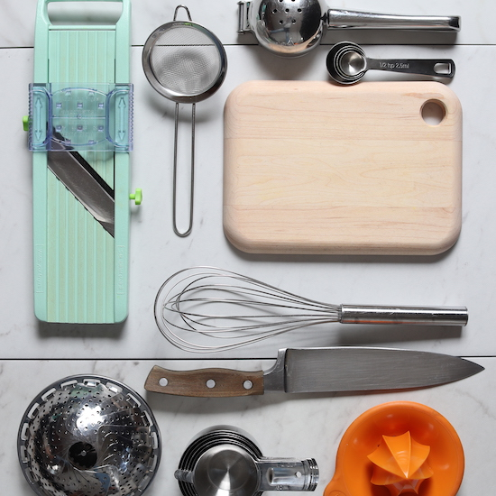 Photo of some of our favorite kitchen tools