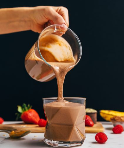 low priced 4a0df 9a5dd Chocolate Protein Shake (Protein Powder-Free!)