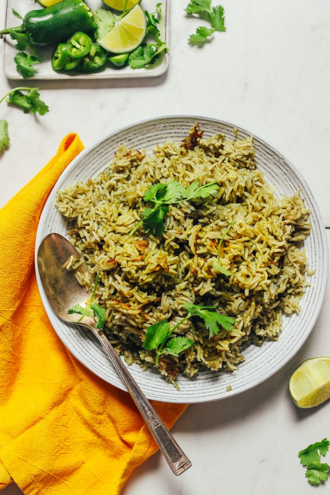 How to Make Green Rice