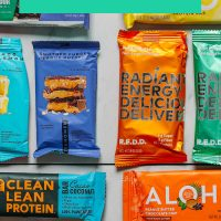 Assortment of protein bars for our Plant-Based Protein Bar Review