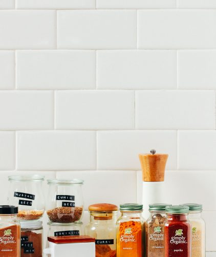 Essential spices for our guide on How to Stock Your Pantry