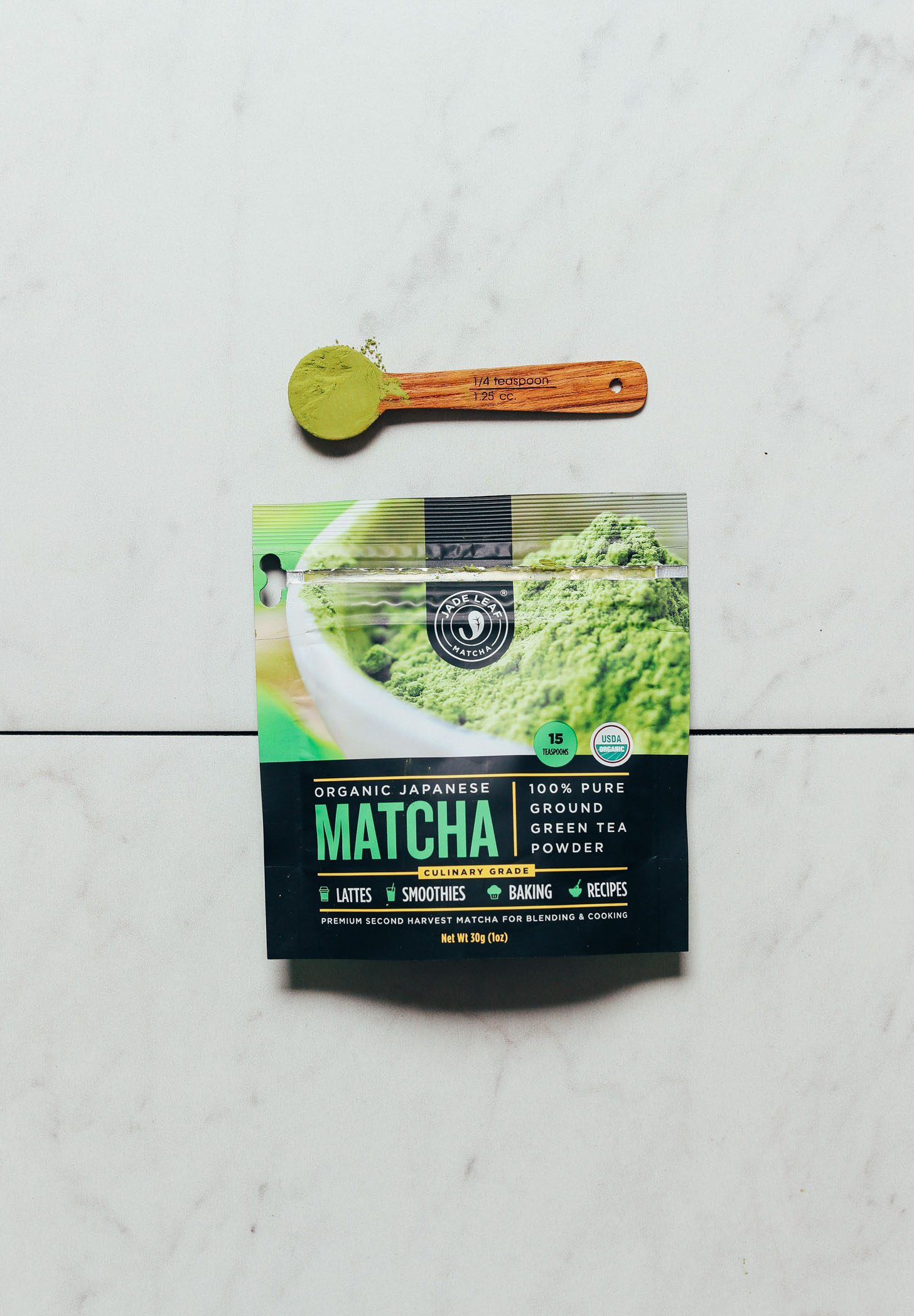 Package of Jade Leaf Culinary Matcha for our review of the top brands of matcha