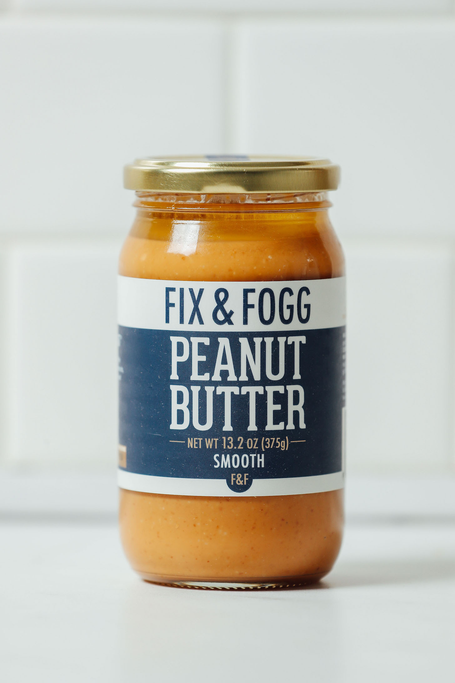 Jar of Fix & Fogg Peanut Butter for our review of the most delicious brands of peanut butter