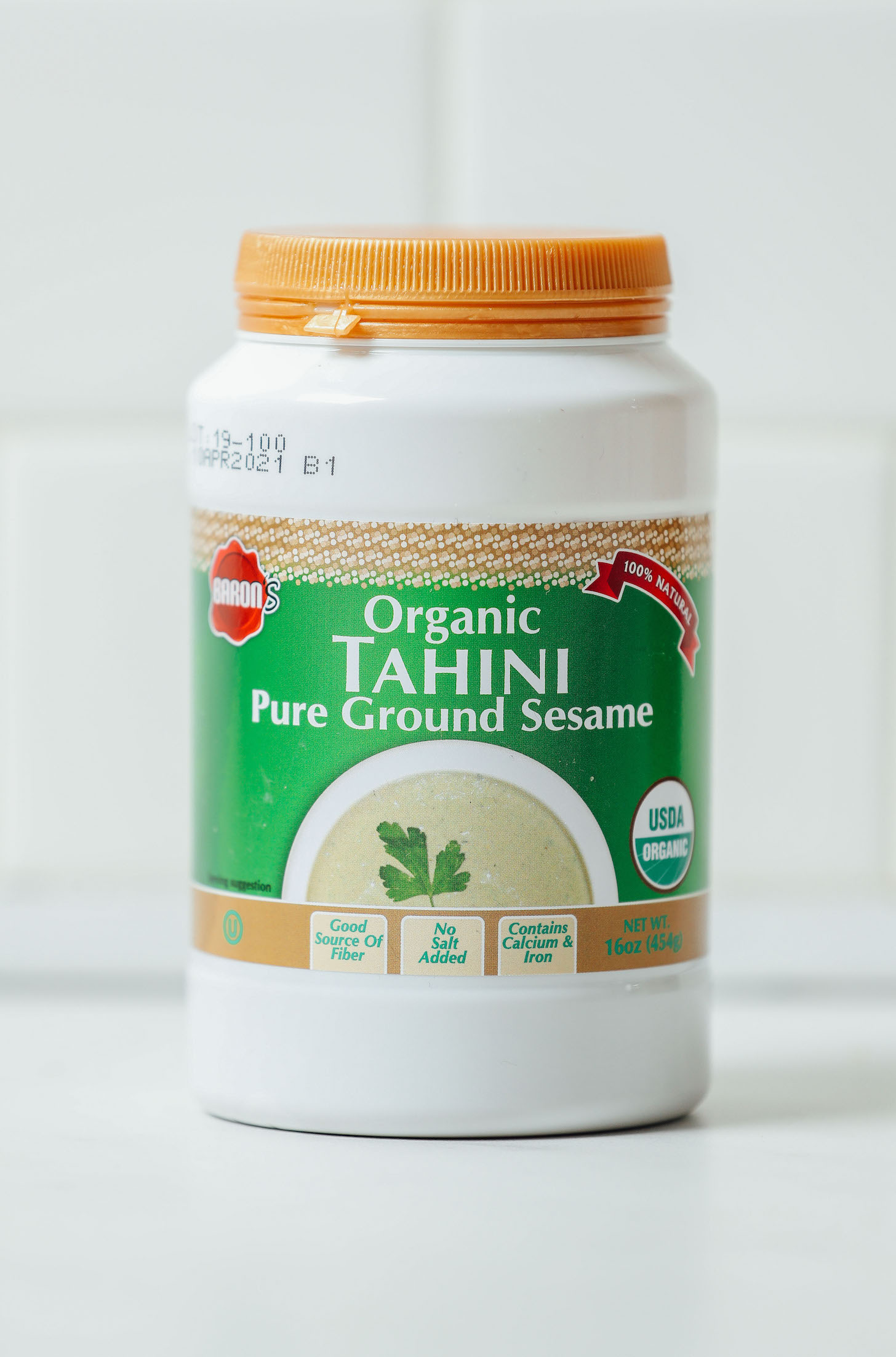 Baron tahini for the first place winner in our Tahini Butters Review
