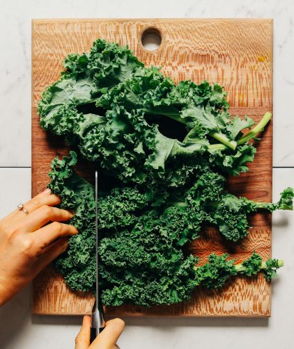 Chopped fresh kale