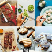 Photos of cookie recipes for our Holiday Cookie Round-up