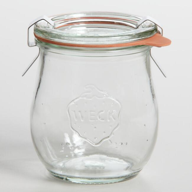 Our favorite small glass storage jar