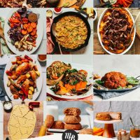 Collection of recipe photos for our post of Holiday Recipe Ideas