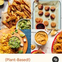 Assortment of food photos for our round-up of super bowl recipes