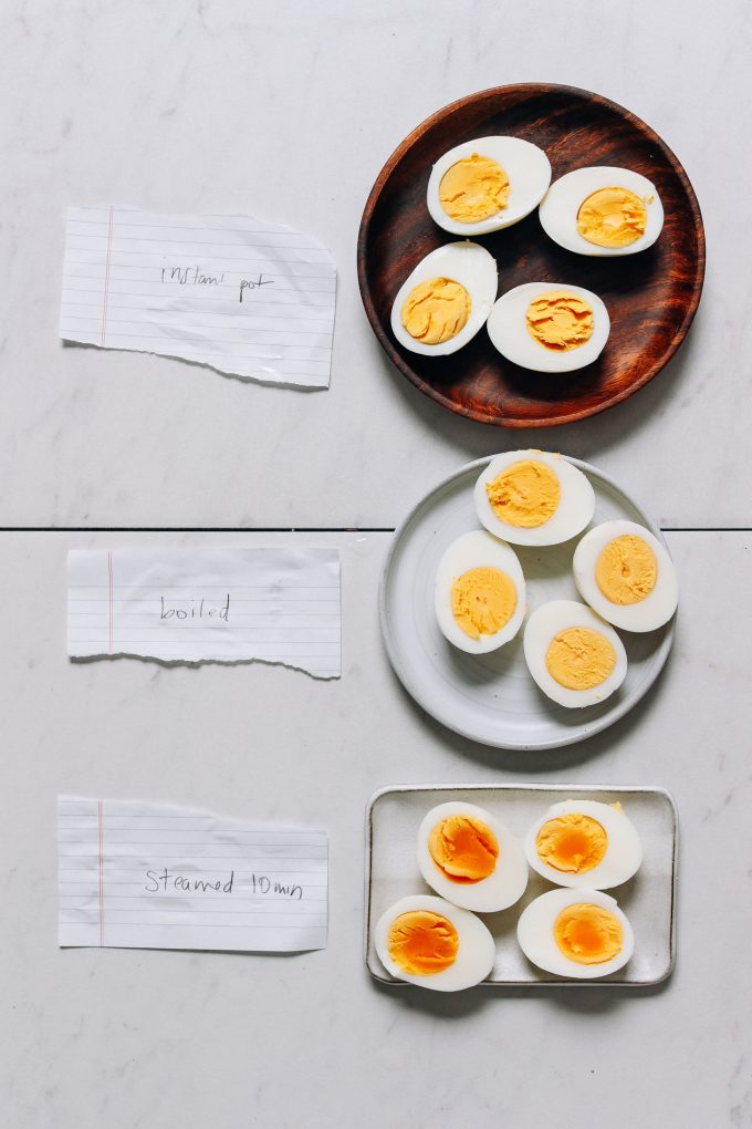 Perfect Hard Boiled Eggs Every Time (3 Ways!)