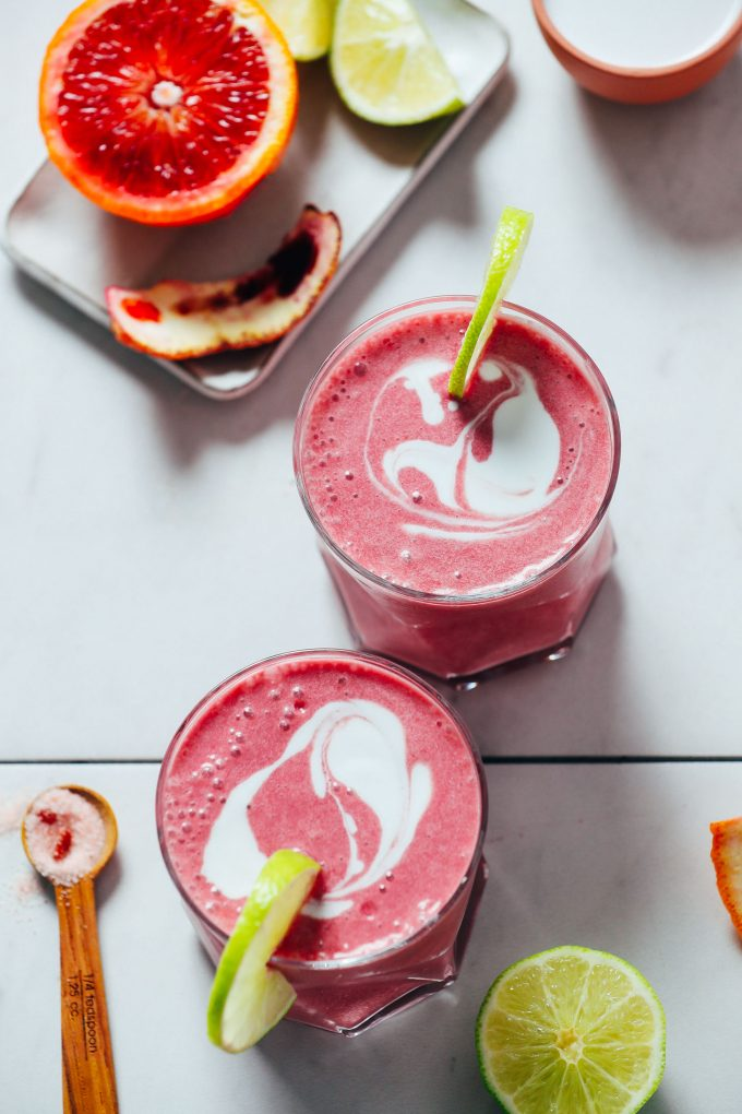 Blood Orange Creamsicle Smoothie