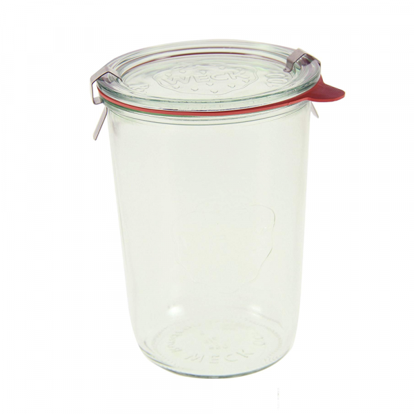 Our favorite large glass storage jar