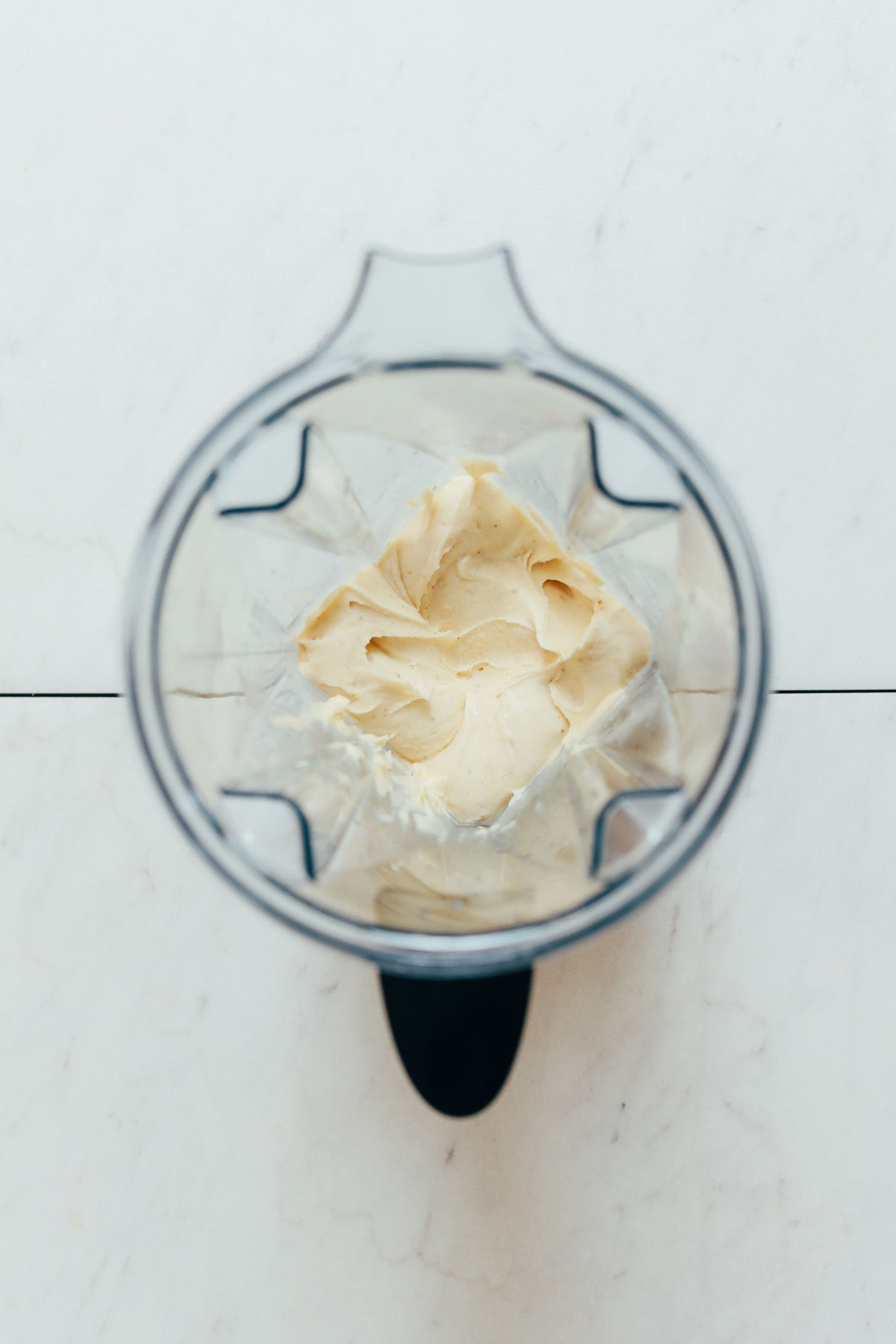 Banana Nice Cream in einem Vitamix Mixer