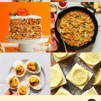 Assortment of recipe photos perfect for Easter celebrations