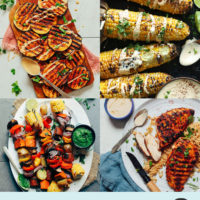 Assortment of recipe photos for our Easy BBQ & Grilling Recipes Round-Up