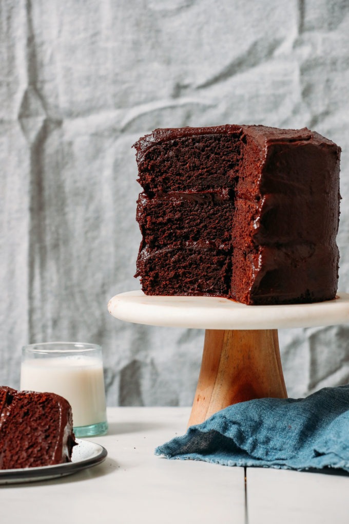 1-Bowl Vegan Gluten-Free Chocolate Cake