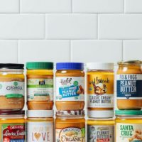 Jars of peanut butter for our unbiased review of top brands