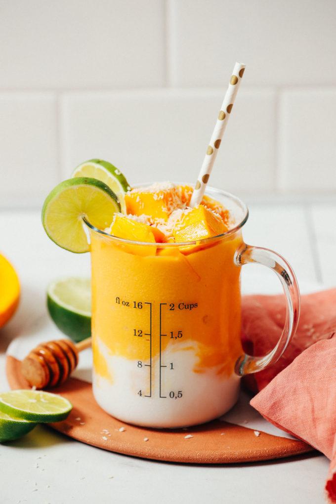 Creamy Mango Lassi Smoothie
