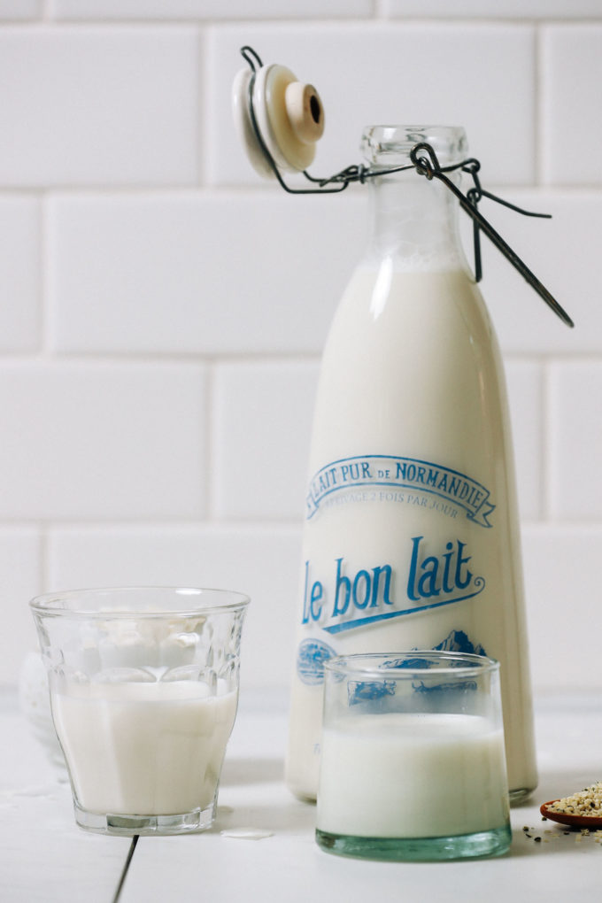 Creamy Coconut Hemp Milk