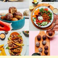 Assortment of recipe photos for quick and easy recipes