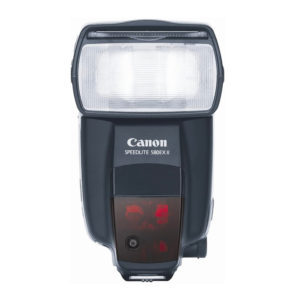 Canon speedlite flash