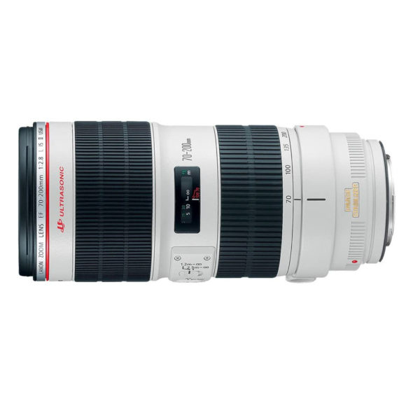 Canon telephoto lens for parallel shots and vignettes