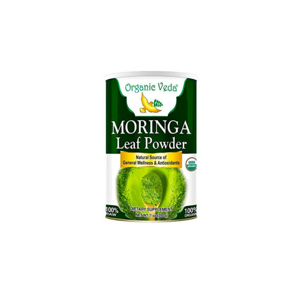 One of our favorite brands of moringa for making lattes